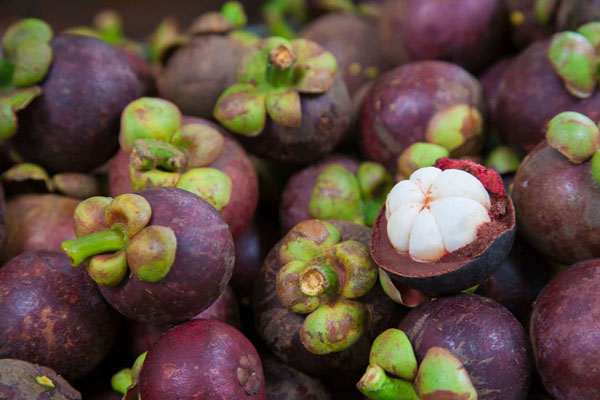 Buah manggis. Foto: Pertanian.go.id