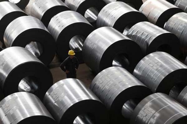 Pabrik baja di Jiaxing, Provinsi Zhejiang, China - Reuters/William Hong