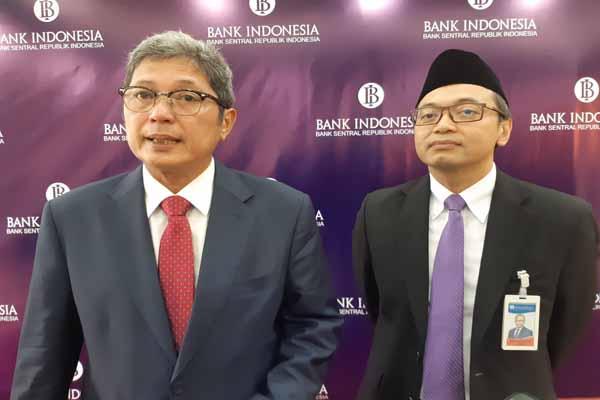 Kepala Perwakilan BI Balikpapan Bimo Epyanto dan Deputi Gubernur BI Erwin Rijanto