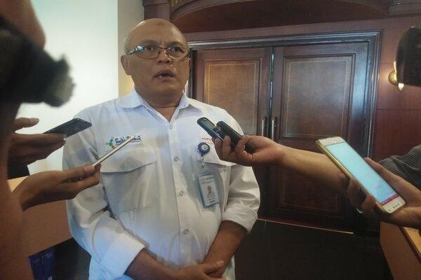 Kepala Pemasaran PT Pupuk Kaltim Wilayah Kalimantan Abdul Khalik. - Bisnis / Arief Rahman
