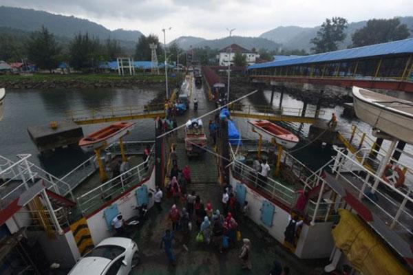 Pelabuhan Balohan di Sabang, Aceh. - Antara