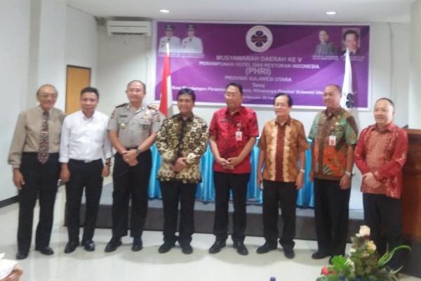 Musyawarah Daerah Ke-V PHRI Provinsi Sulawesi Utara di Manado, Kamis (28/2/2019) - Bisnis/Ilman A. Sudarwan