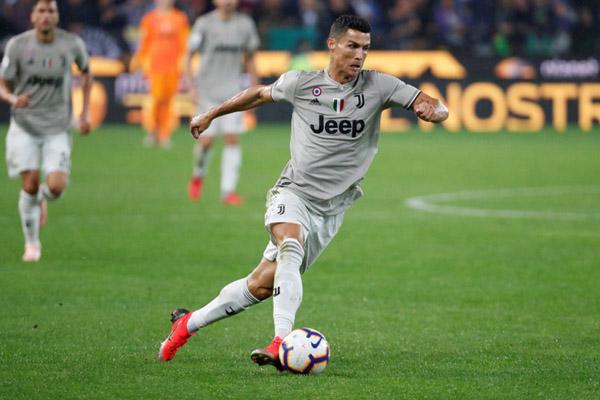 Ujung tombak Juventus Cristiano Ronaldo - Reuters/Stefano Rellandini