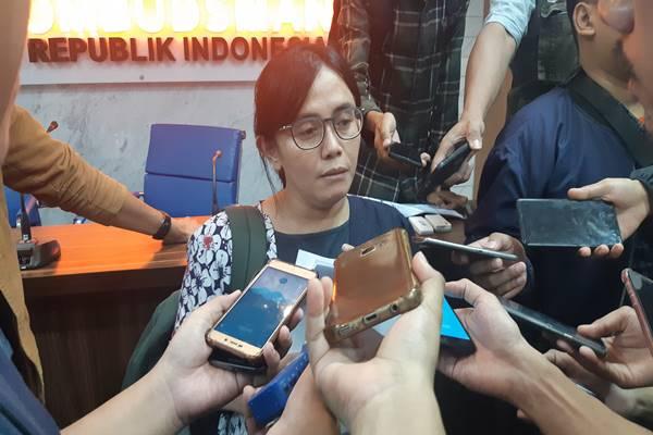 Sekretaris Jenderal Konsorsium Pembaruan Agraria (KPA) Dewi Kartika. JIBI/Bisnis - Jaffry Prabu Prakoso