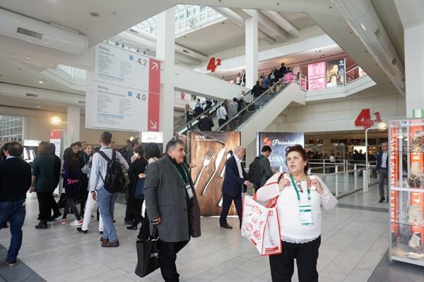 Pameran consumer goods skala internasional, Ambiente, digelar pada 812 Februari 2019 di Frankfurt, Jerman. Sebanyak 4.451 peserta dari 92 negara ikut berpartisipasi dalam gelaran tersebut, termasuk 69 peserta asal Indonesia. - Bisnis/Maria Yuliana Benyamin