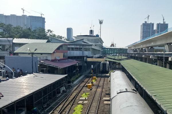Ilustrasi: Stasiun Kereta Api Medan, Sumatra Utara. - Bisnis/ Juli Etha