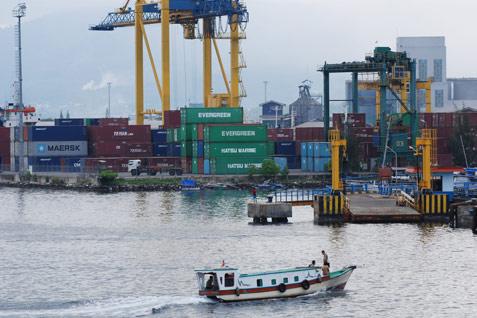Ilustrasi / Pelabuhan perdagangan