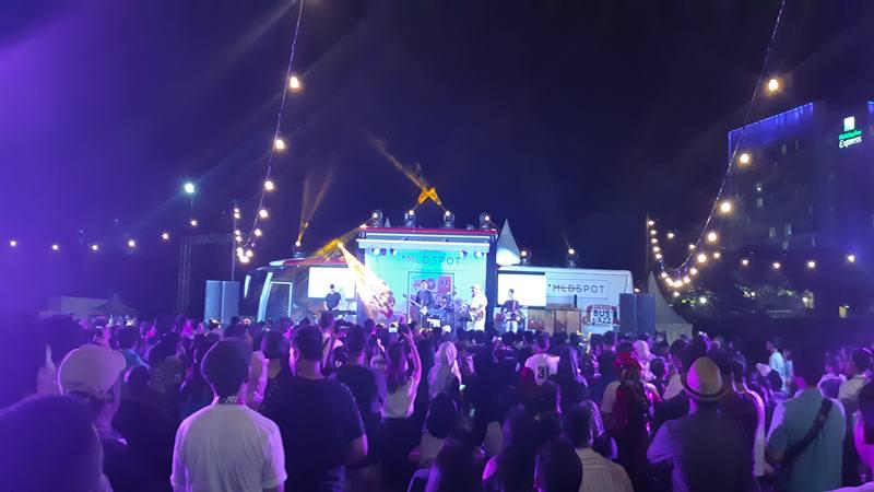 Grup band Indi SORE tampil di Java Jazz Festival 2019, di JiExpo Kemayoran. JIBI/Bisnis - Tika Anggreni Purba