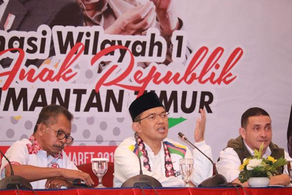 Suasana Rapat Kerja Wilayah Organ Relawan Anak Republik (AR) Kalimantan Timur di Samarinda, Sabtu (9/3/2019). - Istimewa
