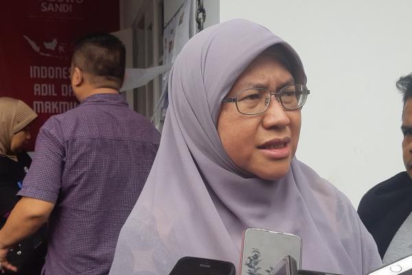 Koordinator Juru Debat Badan Pemenangan Nasional (BPN) Prabowo-Sandi Ledia Hanifa Amaliyah - Bisnis/Jaffry Prabu Prakoso