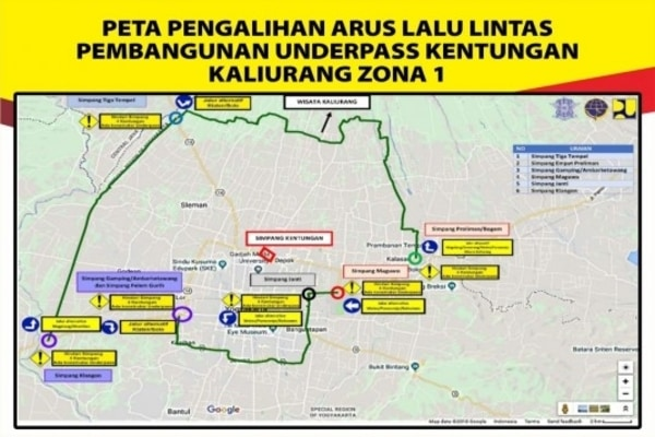 Ilustrasi Underpass - beritajakarta.com