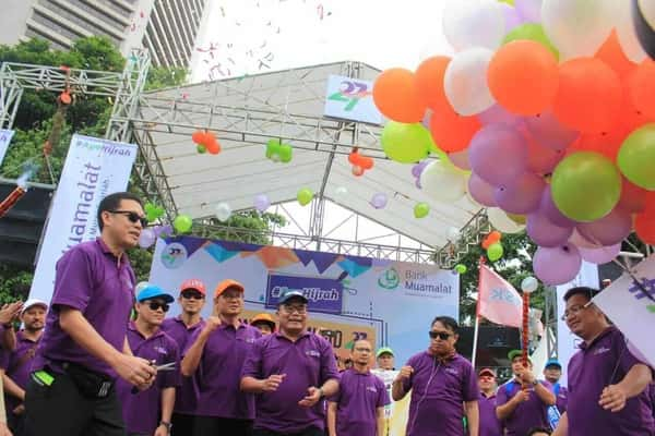 Bank Muamalat Sambut Milad Ke-27 dengan Gelar Fun Walk ...