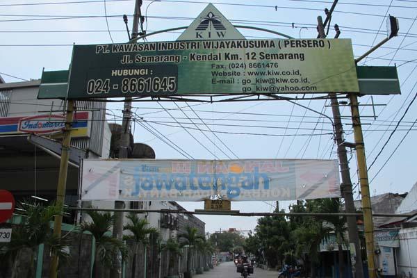 Kawasan Industri Wijayakusuma di Semarang, Jawa Tengah. - Bisnis.com/Pamuji Tri Nastiti