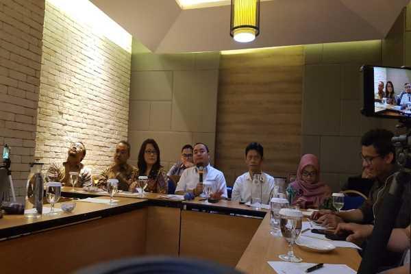Acara diskusi Legitimasi Pemilu dan Peningkatan Partisipasi Pemilih yang diselenggarakan oleh Kantor Staf Presiden di Jakarta, Kamis (28/3/2019) - Denis Riantiza M