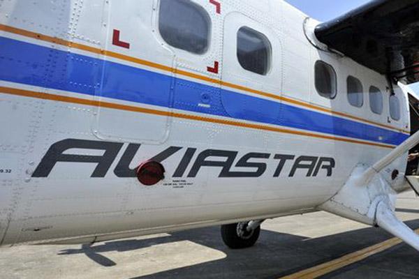 Pesawat Aviastar - Antara/Yusran Uccang