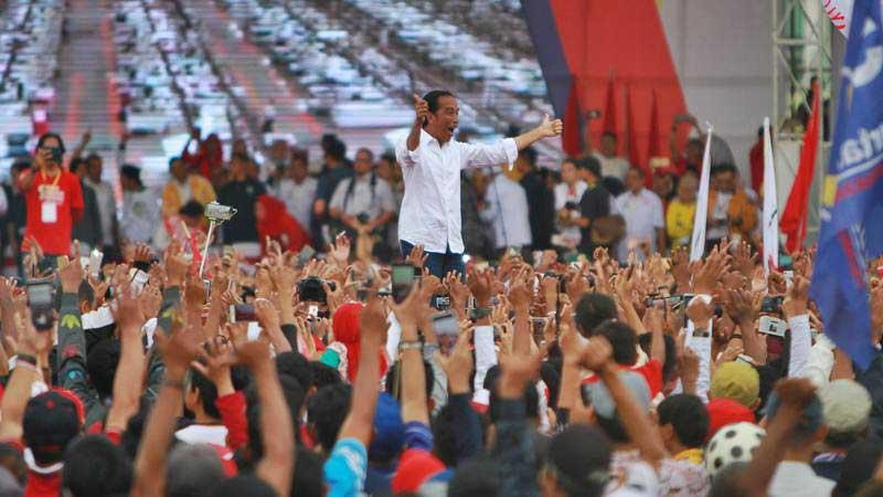 Calon Presiden nomor urut 01 Joko Widodo. - ANTARA/Bayu Pratama S