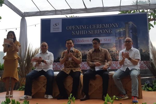 Grand opening Sahid Serpong, Jumat (29/3/2019) - Bisnis/Eva Rianti