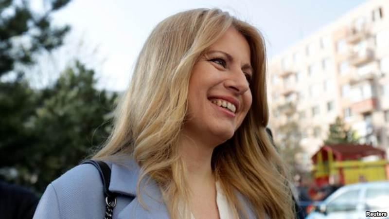 Zuzana Captucova, perempuan pertama Slovakia yang berhasil memenangkan pemilihan presiden di negeri tersebut. - Reuters