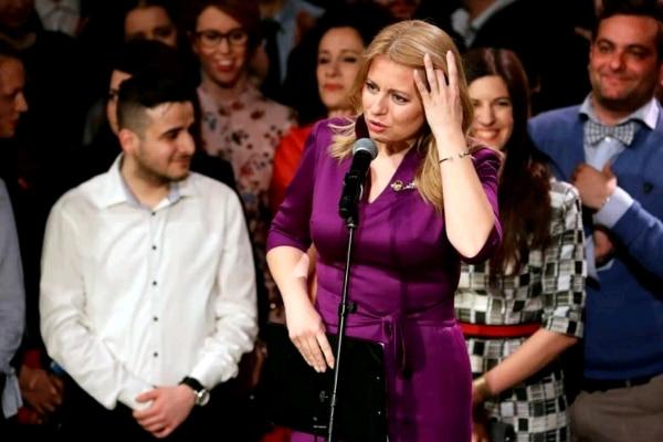 Zuzana Caputova, pemenang putaran kedua Pemilihan Presiden Slovakia - Reuters/David W. Cerny