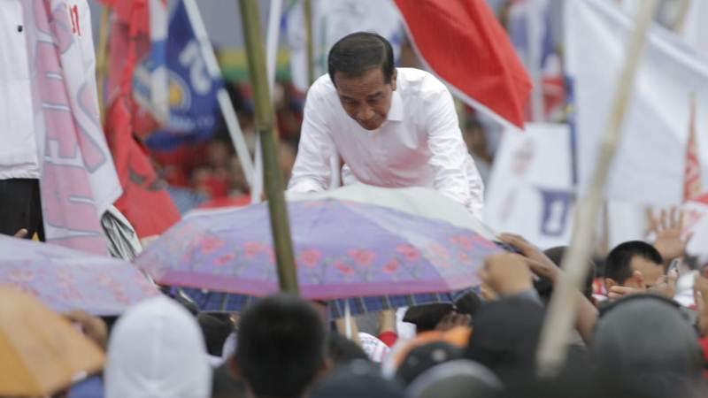 Calon Presiden petahana Joko Widodo alias Jokowi. - Bisnis/Amanda Kusumawardhani