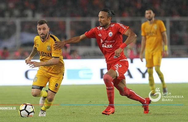 Pemain Persija Rohit Chand - Liga Indonesia