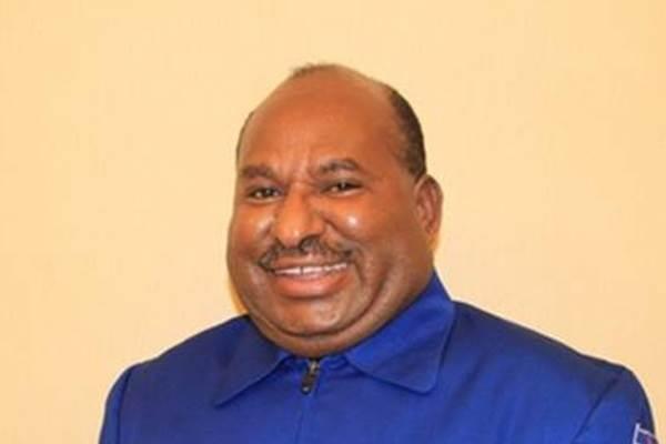 Gubernur Papua Lukas Enembe - Twitter