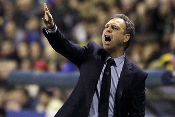 Pelatih Sevilla Joaquin Caparros - Reuters