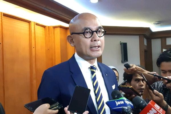 Juru bicara Kementerian Luar Negeri Arrmanatha Nasir - Bisnis Indonesia/Iim Fathimah Timorria