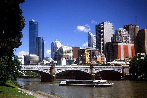 Pemandangan kota Melbourne, Australia - conference.aifs.gov.au