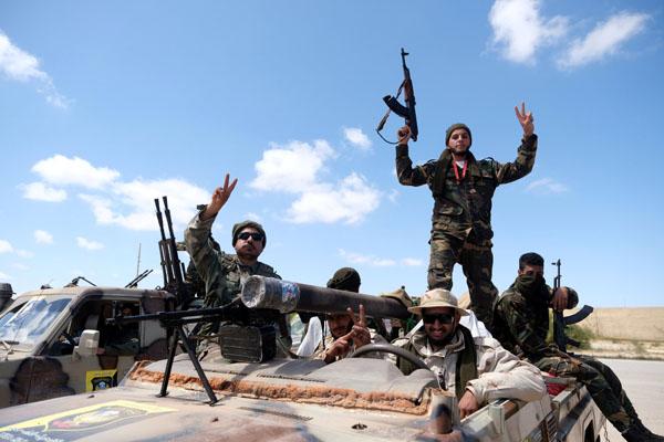 Tentara Nasional Libya - Reuters/Esam Omran Al Fetori
