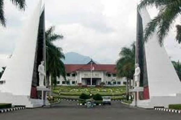 Gerbang Kampung IPDN, Jatinangor, Sumedang, Jabar - Ilustrasi