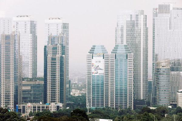 Wajah Jakarta, barometer terdepan pertumbuhan ekonomi Indonesia. - Reuters/Beawiharta