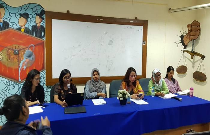 Aliansi untuk Keadilan yang Memulihkan Bagi Anak di Kantor YLBHI, Jakarta, Kamis (11/4 - 2019)