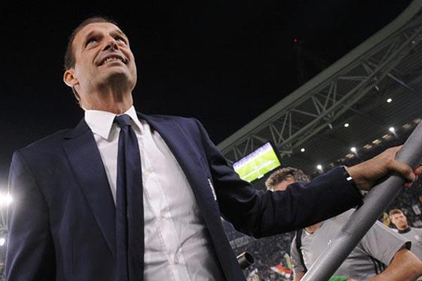 Pelatih Juventus Massimiliano Allegri - Reuters/Giorgio Perottino