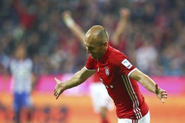 Arjen Robben - Reuters/Michael Dalder