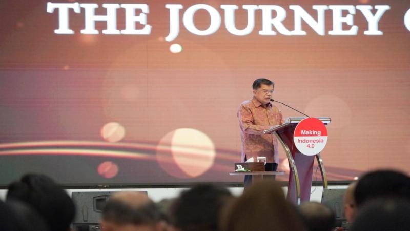 Wakil Presiden Jusuf Kalla. - Bisnis/Anggara Pernando