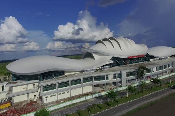 Bandara Tjilik Riwut di Palangkaraya, Kalimantan Tengah. - Bisnis/youtube.com
