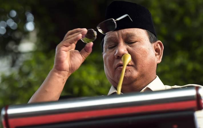 Calon Presiden nomor urut 02 Prabowo Subianto - ANTARA/Galih Pradipta