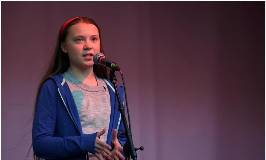 Aktivis lingkungan, Greta Thunberg - Reuters
