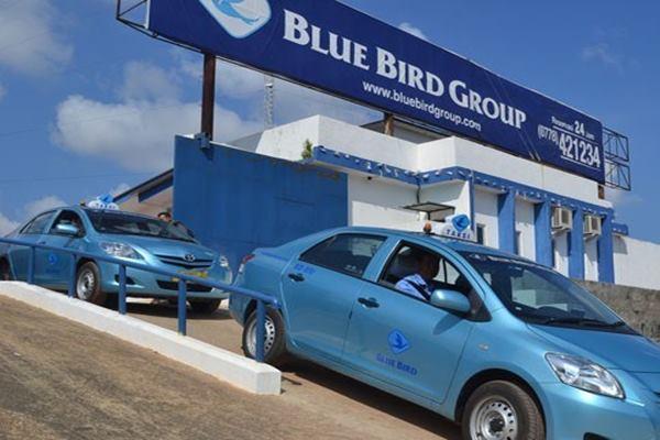 Ilustsrasi - Taksi Blue Bird - Antara
