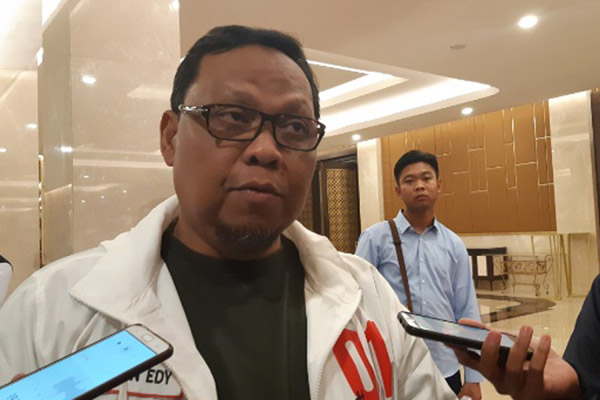 Wakil Ketua Tim Kampanye Nasional (TKN) Jokowi-Ma'ruf Lukman Edy. - Bisnis/Jaffry Prabu Prakoso