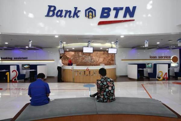 Suasana layanan di kantor PT Bank Tabungan Negara Tbk di Jakarta. - JIBI/Dedi Gunawan