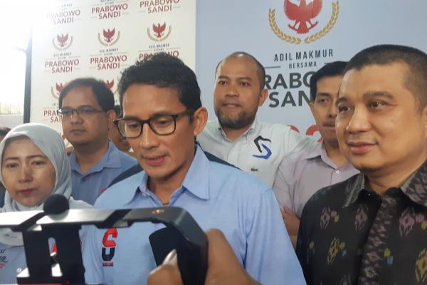 Sandiaga Uno dan Erwin Aksa. - Bisnis/Jaffry Prabu Prakoso