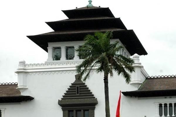 Ilustrasi-Gedung Sate Bandung - Antara