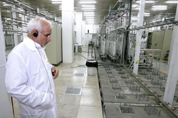 Fasilitas pengayaan nuklir Iran di Natanz - Reuters/Presidential Official Website/Handout