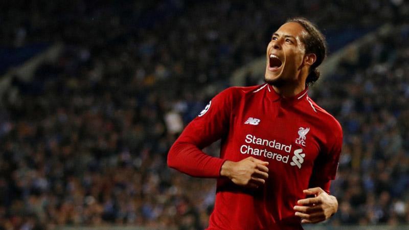 Bek Liverpool Virgil van Dijk - Reuters/Andrew Boyers