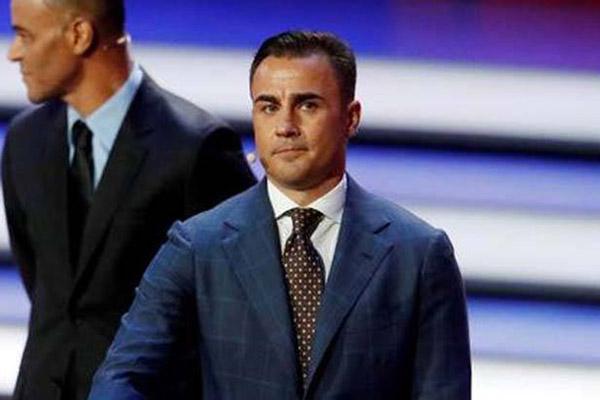 Fabio Cannavaro - Reuters