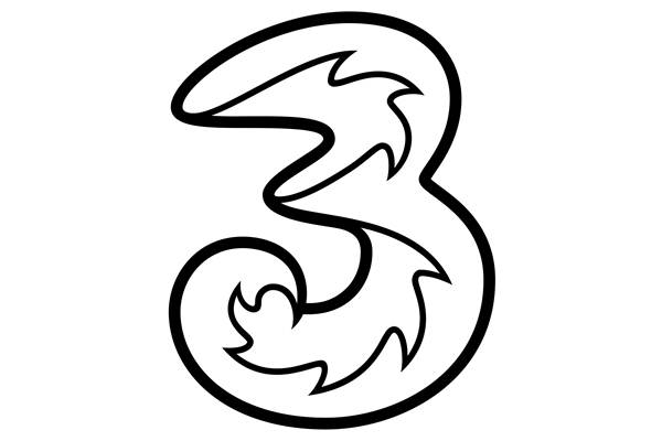 Logo Hutchison 3 Indonesia - H3I
