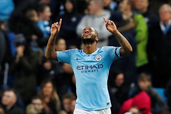 Penyerang Manchester City Raheem Sterling - Reuters/Jason Cairnduff