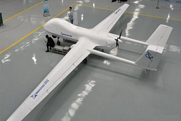 Pesawat UAV (unnamed aerial vehicle) berjenis BZK-00 hasil kerja sama Garuda dengan Beihang UAS Technology Co. Ltd. - Bisnis/Istimewa
